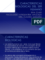 Caracteristicas Biologicas Del Ser Humano Presentacion