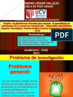 Diapositiva Para Sustentar 2013