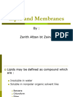 (3) Lipid and Membranes