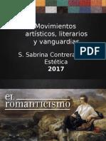Movimientos Artisticos, Literarios y Vanguardias