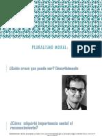 Pluralismo Moral-2015 Clase