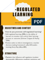 Self-Regulated Learning Presentation