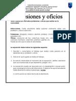 1B Disrtacion Profesiones y Oficios.