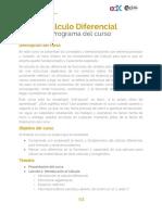 Programa Del Curso 2da. Edición