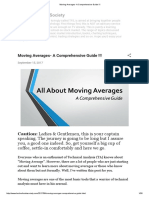 Moving Averages- A Comprehensive Guide !!!
