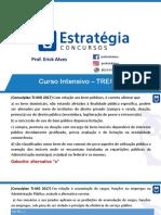 Questões Comentadas Consulplan_TRE-RJ_Direito Administrativo