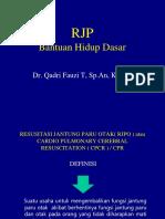 CPR Dan Akreditasi RJP Bantuan Hidup Dasar Dr Qadri Sp.an
