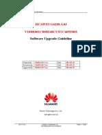 Huawei g620s-l03 v100r001c00b248custc605d001 Upgrade Guideline v1.0
