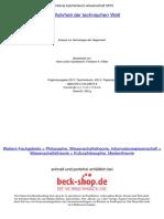 Kittler - Die Wahrheit der technischen Welt- Essays zur Genealogie der Gegenwart (índice)