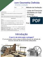 Material e Lista 1 - UGD