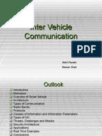 Inter Vehicular Communication