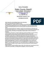 911 Ralls County Sheriff