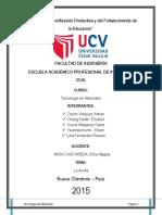 Arcilla Informe de Tecnologia de Materiales. 1