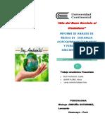 Informe de La Microcuenca Del Rio Pachacayo
