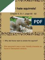 Why I Hate Squirrels!