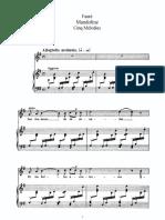 Fauré - 5 Mélodies, Op. 58