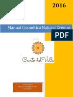 Manual Cremas Artesanales Julio 2016