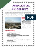 Contaminacion Del Aire en Arequipa