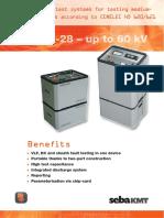 Vlf Cr-28 – Up to 60 Kv