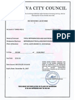 Trel Business Licence