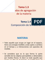 Composicion de La Materia