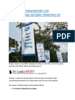 SRI LANKA  INTERIM REPORT FOR CONSTITUTIONAL REFORM  PRINCIPALS OF DEVOLUTION.docx