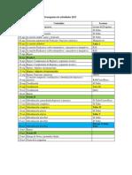 Cronograma GDII 2017