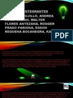 DIAPOSITIVA DE  INSTALACIONES ELECTRICAS TRABAJO N°1