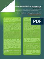 4. La Traduccion de La Publicidad - De Adaptacion a Localizacion