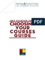Choosing Your Courses Guide