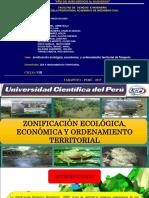 ZEE y Ordenamiento Territorial de La Cuenca Cumbaza-SAN MARTIN