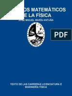 Metodos Matematicos de La Fisic - Marin Antuna, Jose Miguel