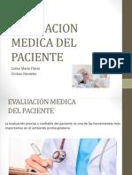 Evaluacion medica del paciente