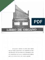 Libro de Órgano-ESDMS