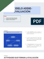 Trabajo Colaborativo - Fase de Evaluación Modelo Addie