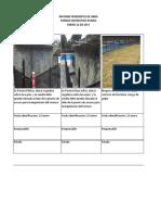 Informe Pendientes de Obra Parque Zungo Enero 22