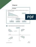 teorema de pitágoras 10° y mas