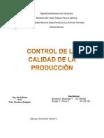 Calidad de produccion