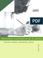 TOCH, E. - Elementos Constitutivos de La Música