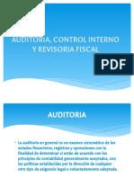 Auditoria, Control Interno y Revisoria Fiscal