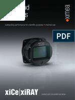 XiCE Scientific High End Cameras 2015 Brochure