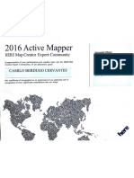 Certificado HERE MAPS