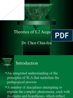 Theories of SLA