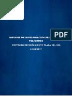 Informe de Investigación de Incidente Peligroso