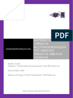 CU00824B Matrices arrays multidimensionales PHP ejercicios resueltos.pdf