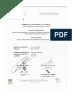 Informe Técnico-Supervisión de La Construcción de Un Edificio de 4 Niveles Del Fraccionamiento Santo Domingo