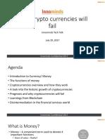 FinTech Talk Cryptocurrencies