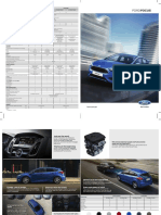 Ford Focus 4pager Brochure MAY2017