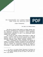 1973-Da Aquisio de Livros Proibidos Nos Fins Do Sculo XVIII