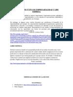 Resumen Ejecutivo de ad y Libe Empresa